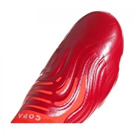 Buty piłkarskie adidas Copa Sense+ Fg M FY6217 wielokolorowe czerwone 1