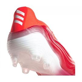 Buty piłkarskie adidas Copa Sense+ Fg M FY6217 wielokolorowe czerwone 2