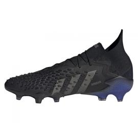 Buty piłkarskie adidas Predator Freak.1 Fg M FY6257 czarne czarne 1