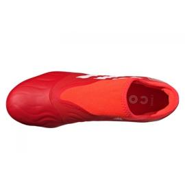 Buty piłkarskie adidas Copa Sense.3 Ll Fg M FY6172 wielokolorowe czerwone 3
