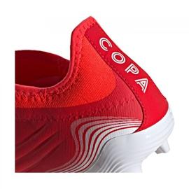 Buty piłkarskie adidas Copa Sense.3 Ll Fg M FY6172 wielokolorowe czerwone 4