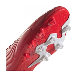 Buty piłkarskie adidas Copa Sense.1 Ag M FY6206 wielokolorowe czerwone 3