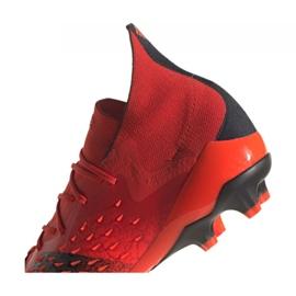 Buty piłkarskie adidas Predator Freak.1 Ag M FY6253 czerwone czerwone 2