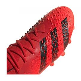 Buty piłkarskie adidas Predator Freak.1 Ag M FY6253 czerwone czerwone 3