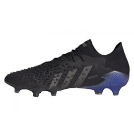 Buty piłkarskie adidas Predator Freak.1 Low Fg M FY6265 czarne czarne 5