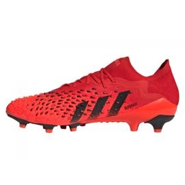 Buty piłkarskie adidas Predator Freak.1 Low Ag M GZ2809 czerwone czerwone 1