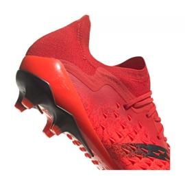 Buty piłkarskie adidas Predator Freak.1 Low Ag M GZ2809 czerwone czerwone 2