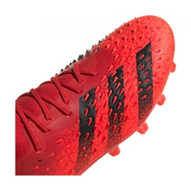 Buty piłkarskie adidas Predator Freak.1 Low Ag M GZ2809 czerwone czerwone 3