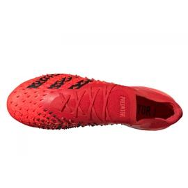 Buty piłkarskie adidas Predator Freak.1 Low Ag M GZ2809 czerwone czerwone 4
