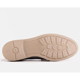 Marco Shoes Szare mokasyny na lekkiej podeszwie 3