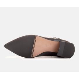 Marco Shoes Ocieplane eleganckie botki z elastyczną gumą w cholewce czarne 1