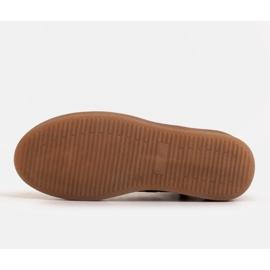 Marco Shoes Niskie botki sznurowane z miękkiej skóry pomarańczowe 7