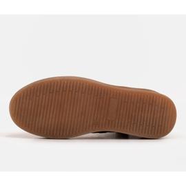 Marco Shoes Niskie botki sznurowane z miękkiej skóry brązowe zielone 7