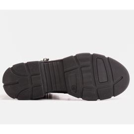Marco Shoes Sportowe botki damskie z lekkim ociepleniem jesienno-zimowym fioletowe 3
