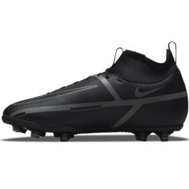 Buty piłkarskie Nike Phantom GT2 Club Dynamic Fit FG/MG Jr DC0822 004 czarne czarne 1