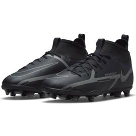 Buty piłkarskie Nike Phantom GT2 Club Dynamic Fit FG/MG Jr DC0822 004 czarne czarne 2