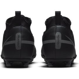 Buty piłkarskie Nike Phantom GT2 Club Dynamic Fit FG/MG Jr DC0822 004 czarne czarne 3