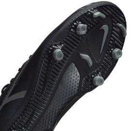 Buty piłkarskie Nike Phantom GT2 Club Dynamic Fit FG/MG Jr DC0822 004 czarne czarne 7