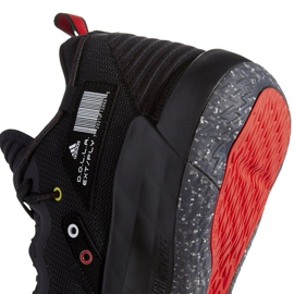 Buty do koszykówki adidas Dame 7 Extply M FY9939 czarne czarne 4