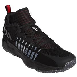 Buty do koszykówki adidas Dame 7 Extply M FY9939 czarne czarne 5