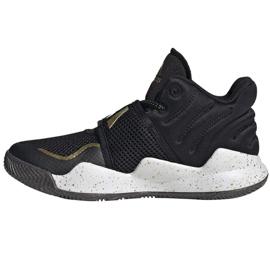 Buty adidas Deep Threat Primeblue C Jr GZ0111 białe czarne 1
