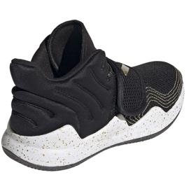 Buty adidas Deep Threat Primeblue C Jr GZ0111 białe czarne 5