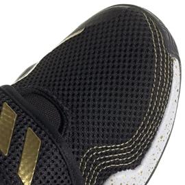 Buty adidas Deep Threat Primeblue C Jr GZ0111 białe czarne 6