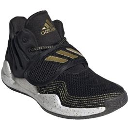 Buty adidas Deep Threat Primeblue C Jr GZ0111 białe czarne 7