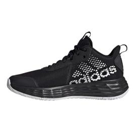 Buty do koszykówki adidas Ownthegame 2.0 M H00470 wielokolorowe czarne 1