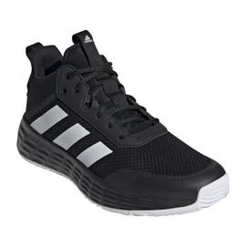 Buty do koszykówki adidas Ownthegame 2.0 M H00470 wielokolorowe czarne 3