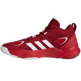 Buty do koszykówki adidas Pro N3XT 2021 M G58890 wielokolorowe czerwone 1