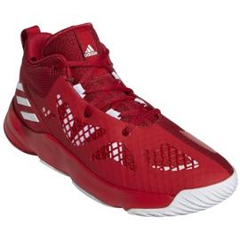Buty do koszykówki adidas Pro N3XT 2021 M G58890 wielokolorowe czerwone 2