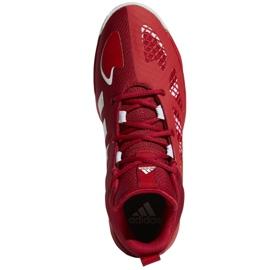 Buty do koszykówki adidas Pro N3XT 2021 M G58890 wielokolorowe czerwone 3