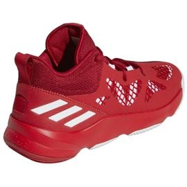 Buty do koszykówki adidas Pro N3XT 2021 M G58890 wielokolorowe czerwone 4