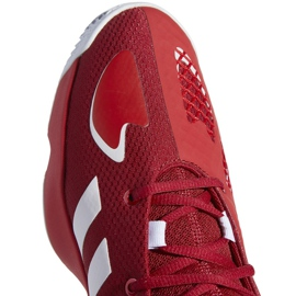 Buty do koszykówki adidas Pro N3XT 2021 M G58890 wielokolorowe czerwone 5
