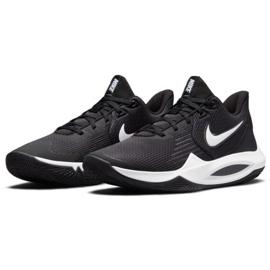 Buty do koszykówki Nike Precision 5 M CW3403 003 wielokolorowe czarne 2