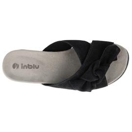 Inblu klapki obuwie damskie  158D156 granatowe 3