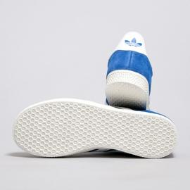 Buty adidas Gazelle J Jr BB2501 białe niebieskie 1