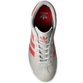 Buty adidas Gazelle J Jr BB2505 szare 2