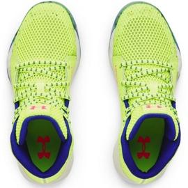 Buty do koszykówki Under Armour Gs Jet Splash Jr 3024120 300 żółte żółte 2