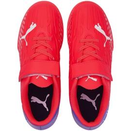 Buty piłkarskie Puma Ultra 4.3 It V Jr 106592 01 czerwone czerwone 1