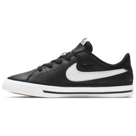 Buty Nike Court Legacy Shoe Jr DA5381 002 czarne granatowe 1