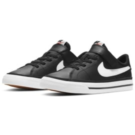 Buty Nike Court Legacy Shoe Jr DA5381 002 czarne granatowe 2