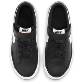 Buty Nike Court Legacy Shoe Jr DA5381 002 czarne granatowe 4
