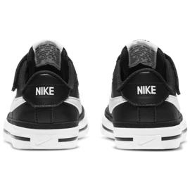 Buty Nike Court Legacy Shoe Jr DA5381 002 czarne granatowe 5