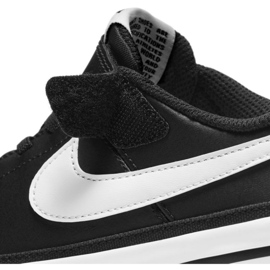 Buty Nike Court Legacy Shoe Jr DA5381 002 czarne granatowe 7