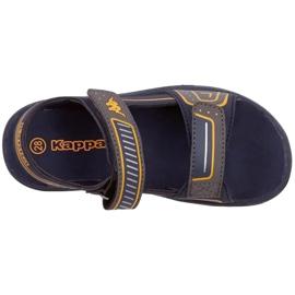 Sandały Kappa Paxos Jr 260864K 6744 niebieskie 1