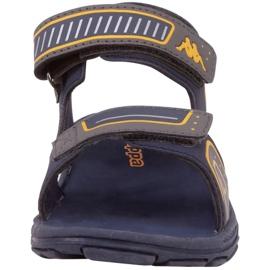 Sandały Kappa Paxos Jr 260864K 6744 niebieskie 2