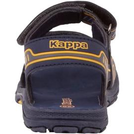 Sandały Kappa Paxos Jr 260864K 6744 niebieskie 3