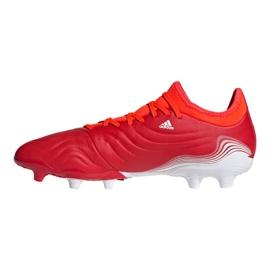 Buty piłkarskie adidas Copa Sense.3 Fg M FY6196 wielokolorowe czerwone 1